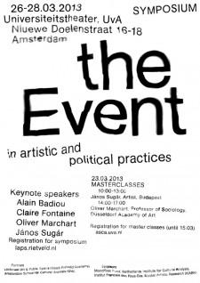 Event Symposium. Mislav Zugaj
