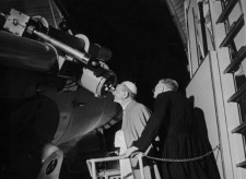 Laurent Grasso, Specola Vaticana, John G. Hagen, S.J. At the telescope Vaticana, after 1910, Courtesy of the artist